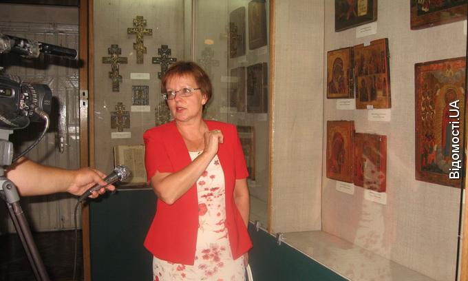 У краєзнавчому  музеї демонструють українські цінності врятовані працівниками СБУ