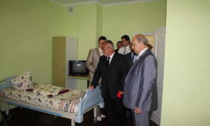 У Луцькій районній лікарні відремонтували дитяче відділення