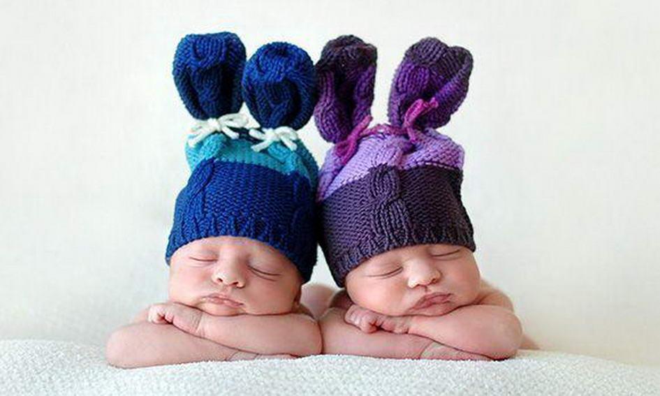 З початку року на Волині народилось 80 пар двійнят