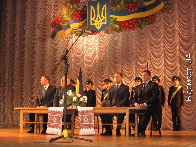 Волинські чиновники святкують День місцевого самоврядування
