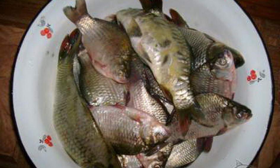 Мати з сином продавали «незаконну» рибу на ринку Луцька