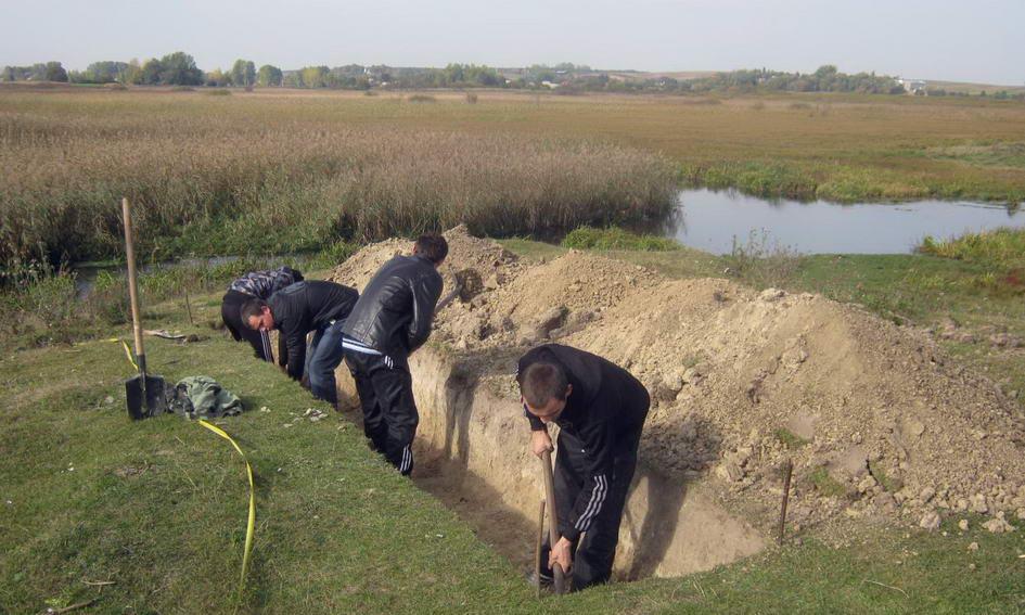 Археологи дослідили городище Х-ХІ століть у Городищі