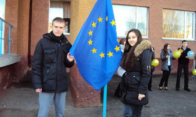 Луцькі школярі вірять в європейські перспективи України