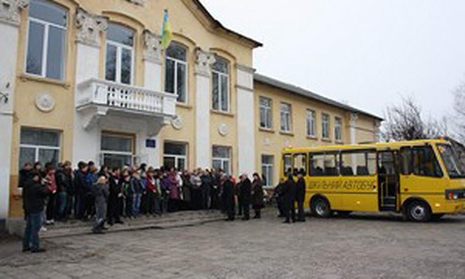 У Лукові Турійського району тепер є шкільний автобус