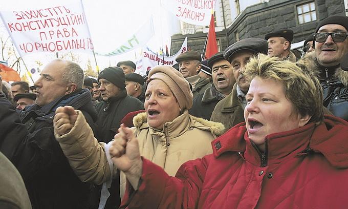 Які пенсії отримають волинські чорнобильці