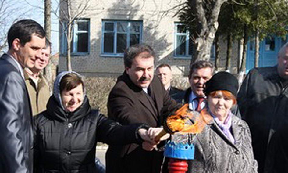 У селі Лудин Володимир-Волинського району з'явився газопровід