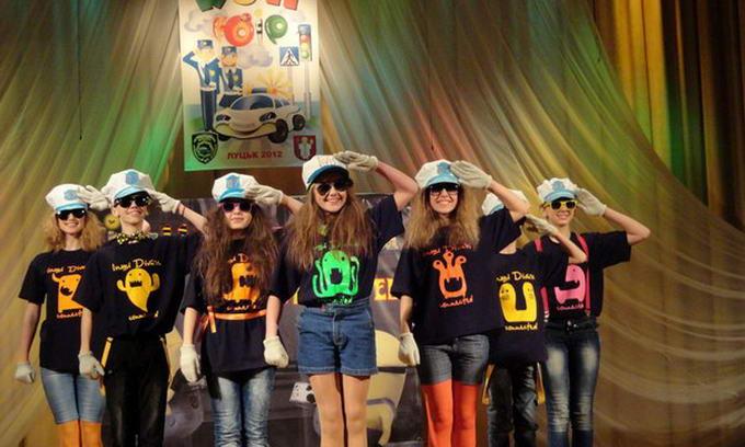 На Волині найкращі юні інспектори руху України позмагалися у КВК