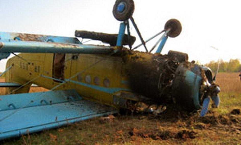 У Сумській області перекинувся літак, що обробляв поля гербіцидами