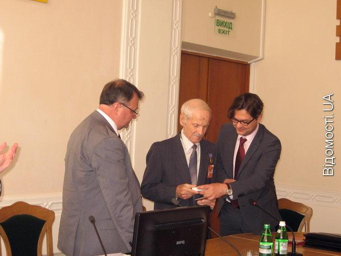 Волинянина-фронтовика нагородили орденом «Червоної Зірки» через 68 років