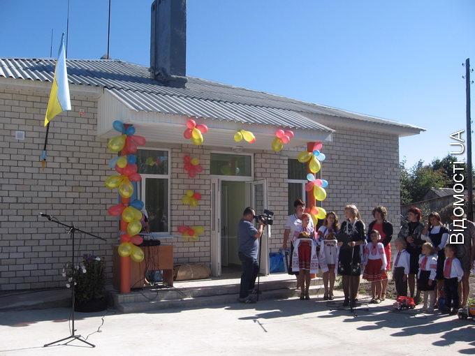У селі Череваха відкрили дитячий садочок