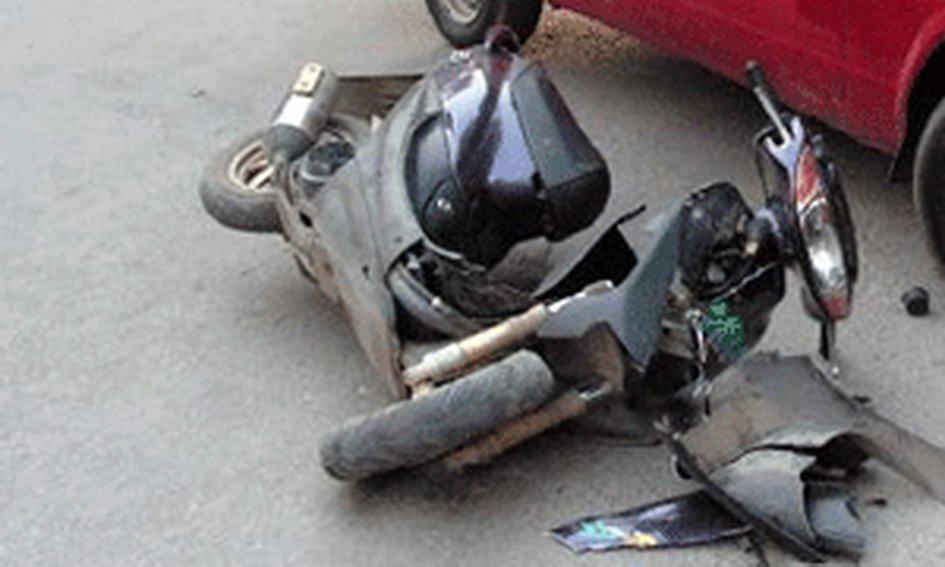 Скутер не встояв проти автомобіля