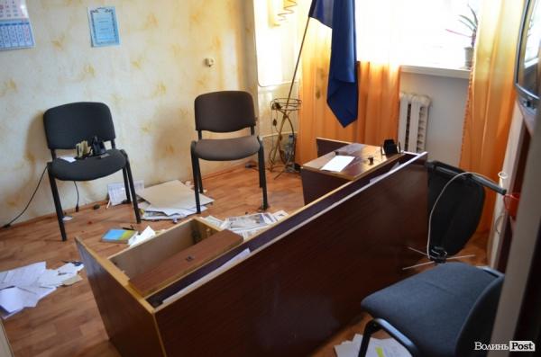 Невідомі влаштували погром у офісі Олени Голєвої