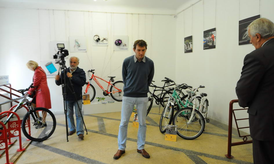 У Луцьку запрацювала велосипедна виставка