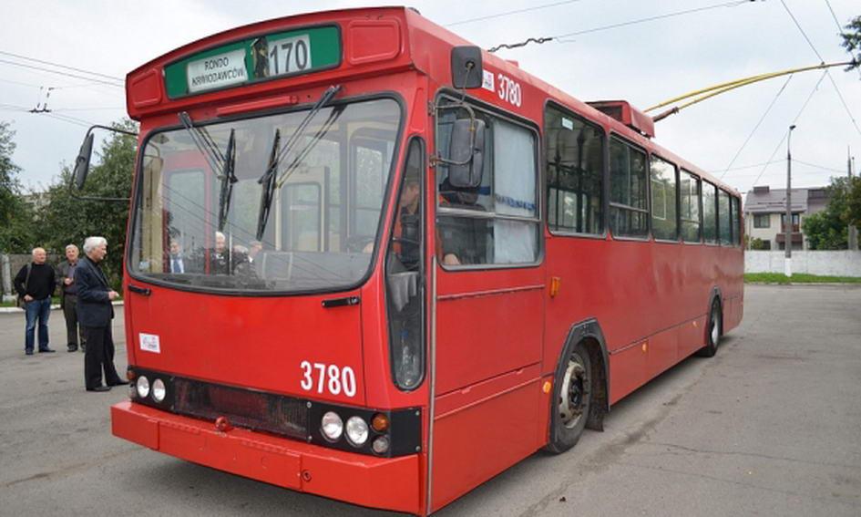 Люблін віддає Луцьку 10 тролейбусів
