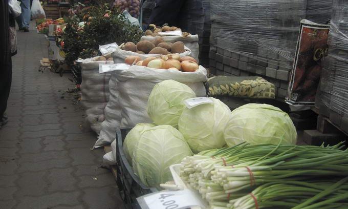 Ціни на овочі тримаються на рівні минулого року