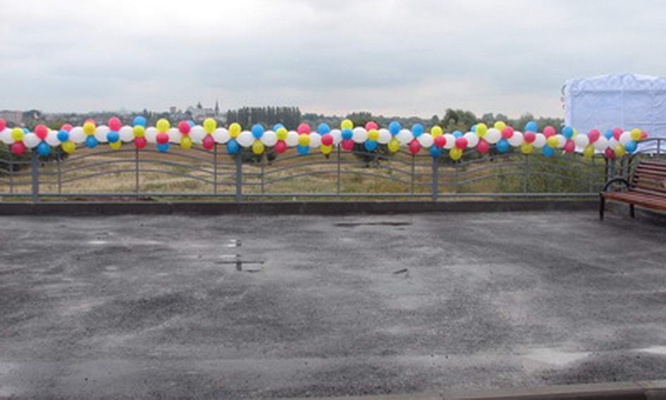 Панораму Луцька можна споглядати зі спеціально облаштованого майданчика