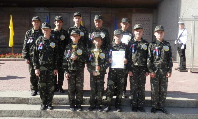Волинські школярі зайняли перше місце у військово-патріотичній грі «Зірниця»