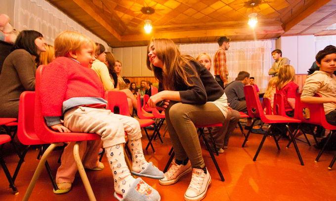 Благодійники влаштували свято для дітей з Рожищенського інтернету