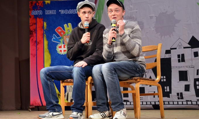 У Луцьку стартував чвертьфінал Всеукраїнської ліги КВН