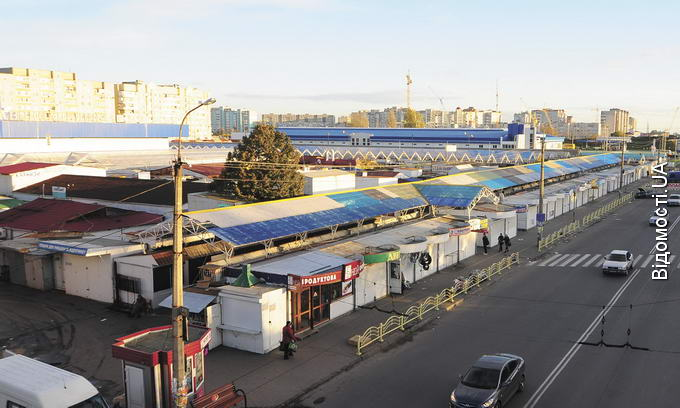 Торгові павільйони на Завокзальному ринку можуть у будь-який момент злетіти в повітря