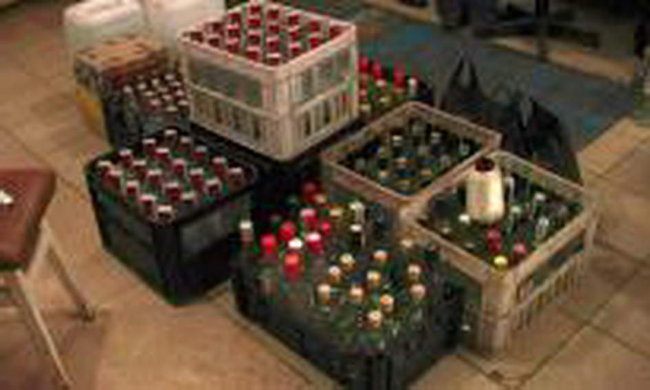 Лучанин у гаражі налагодив виробництво брендової горілки