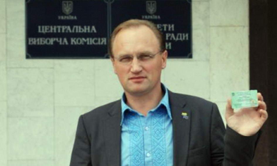 У викраденому пікапі виявили агітацію заступника міського голови Луцька