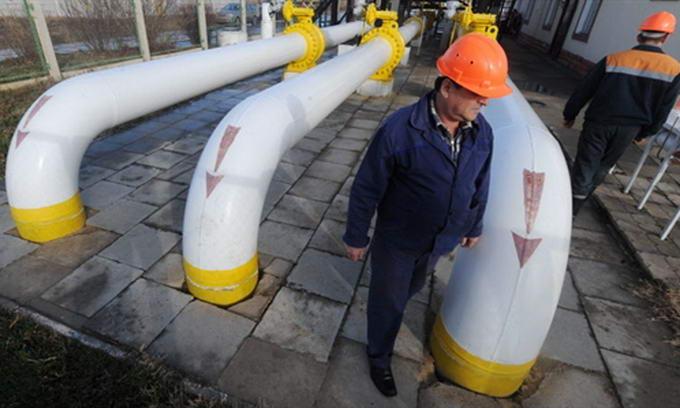 Наступного року Україна купить у Росії лише 20 млрд. кубометрів газу