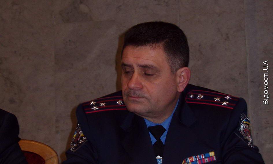 Особовому складу волинської міліції представили нового начальника