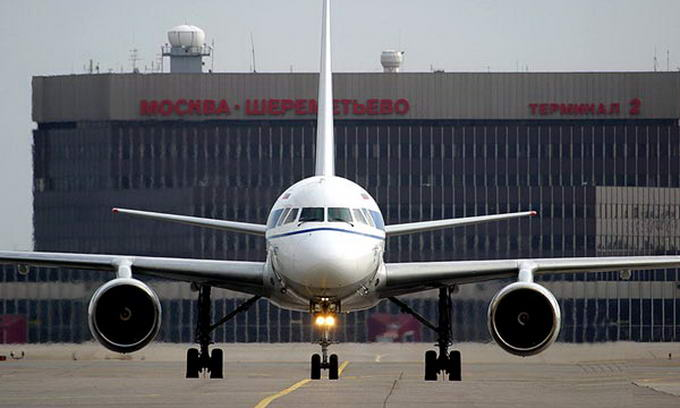 Аеропорт «Шереметьєво» відмовляється приймати рейси української авіакомпанії