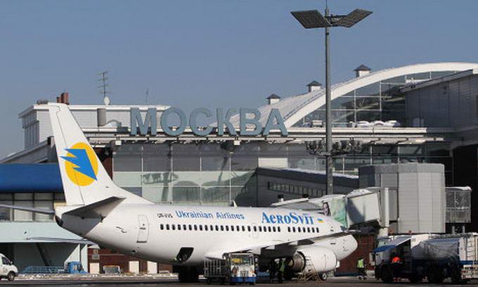 Із завтрашнього дня московський аеропорт «Шереметьєво» припинить приймати рейси «АероСвіту»