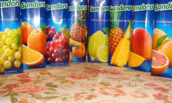 АМКУ оштрафував виробника соків «Сандора» на 3 мільйони гривень