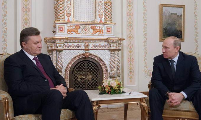 Янукович і Путін планують 18 грудня обговорити співробітництво у газовій сфері