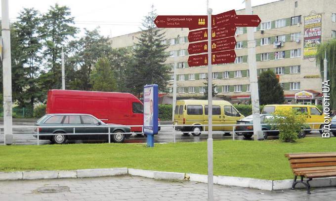 У Луцьку встановлять вказівники для туристів