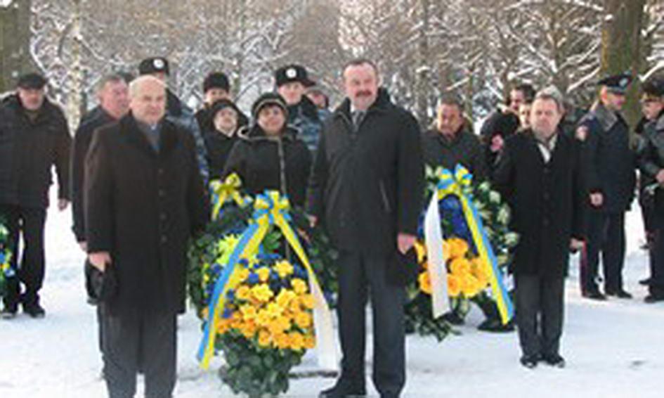 На Волині вшанували учасників ліквідації аварії на Чорнобильській АЕС