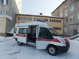 Дитячій лікарні придбали реанімобіль