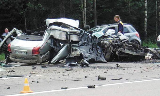 Найчастіше аварії на дорогах Волині трапляються в п'ятницю та неділю