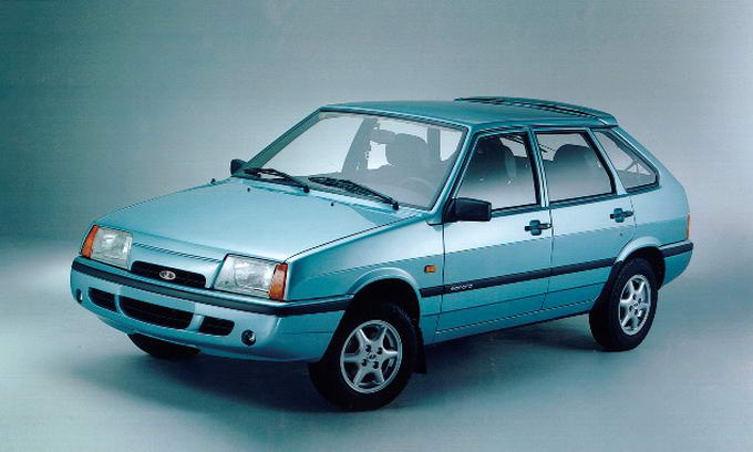 Автомобіль Lada Samara знімають з виробництва