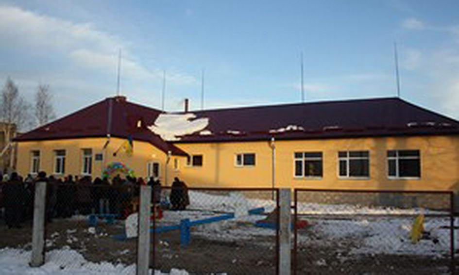 У селі Комарове відкрили добудований дитячий садочок «Веселка»