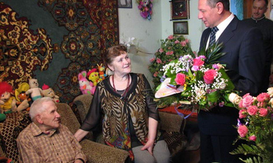 103-річного лучанина з днем народження привітав міський голова і вручив 500 гривень