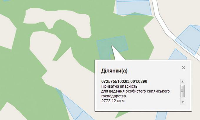 У Шацькому районі є приватні землі у лісах