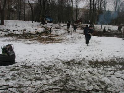 У Луцьку розчистили парк культури і відпочинку імені 900-річчя міста