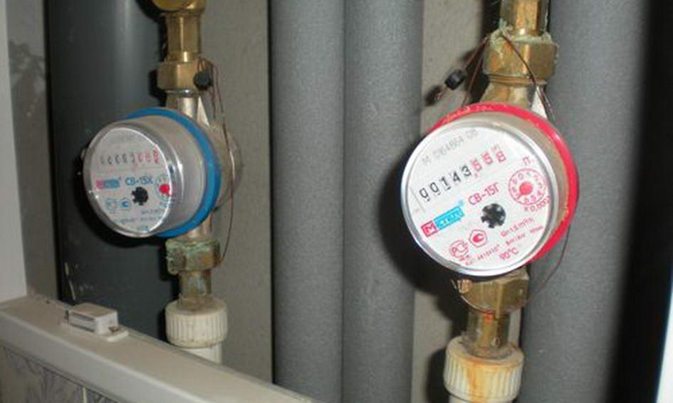Населення має встановити лічильники на воду і тепло до 2017 року