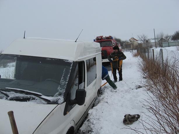 МНСники витягали автівки волинян