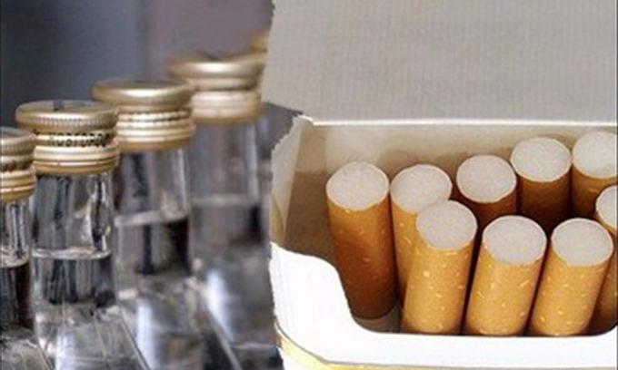 З квітня ціни на цигарки та алкоголь знову зростуть