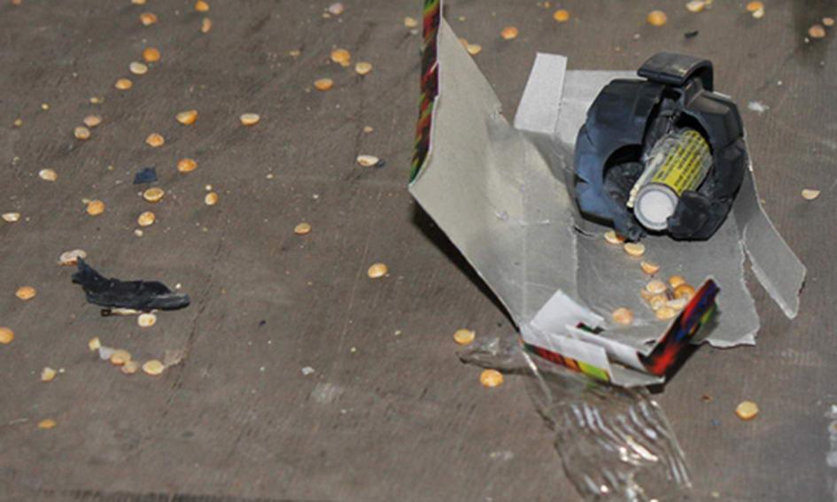 На пошті в Луцьку вибухнула посилка