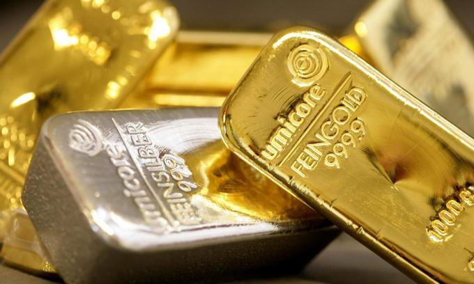 Ціни на золото та срібло зросли