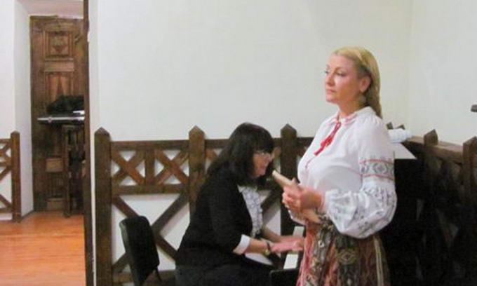 В Луцьку у будинку Косачів відбулася мистецька імпреза