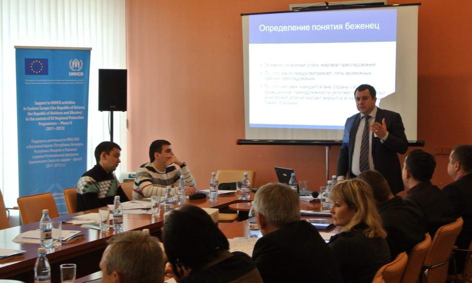 Представники з п'яти областей у Луцьку навчались, як поводитися з біженцями