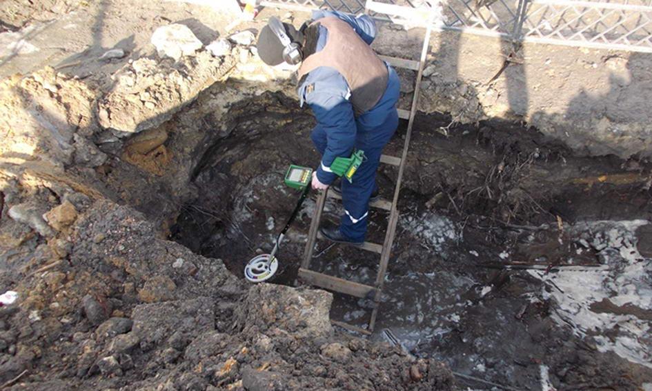 У Ковелі комунальники відкопали мінометну міну часів війни