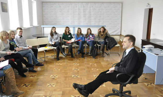 Молодих волинян навчали основ ораторської майстерності